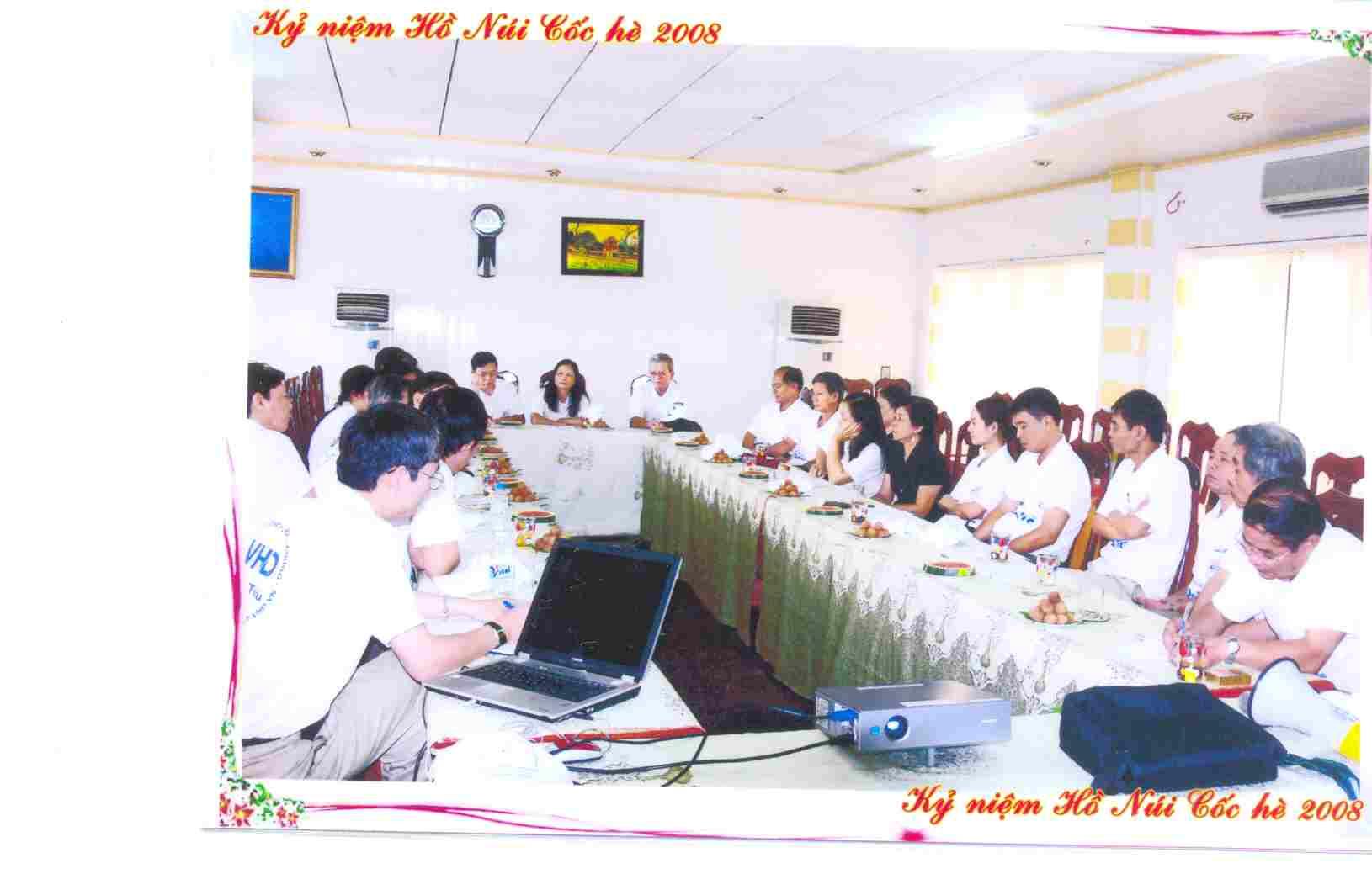 Người dịch công chứng VHD sinh hoạt dã ngoại Thái Nguyên 2008